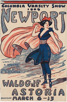 Columbia Varsity Show Poster (March 8-13, 1909)