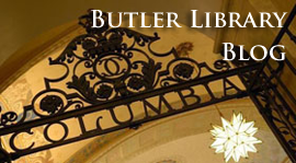 Butler Library Blog