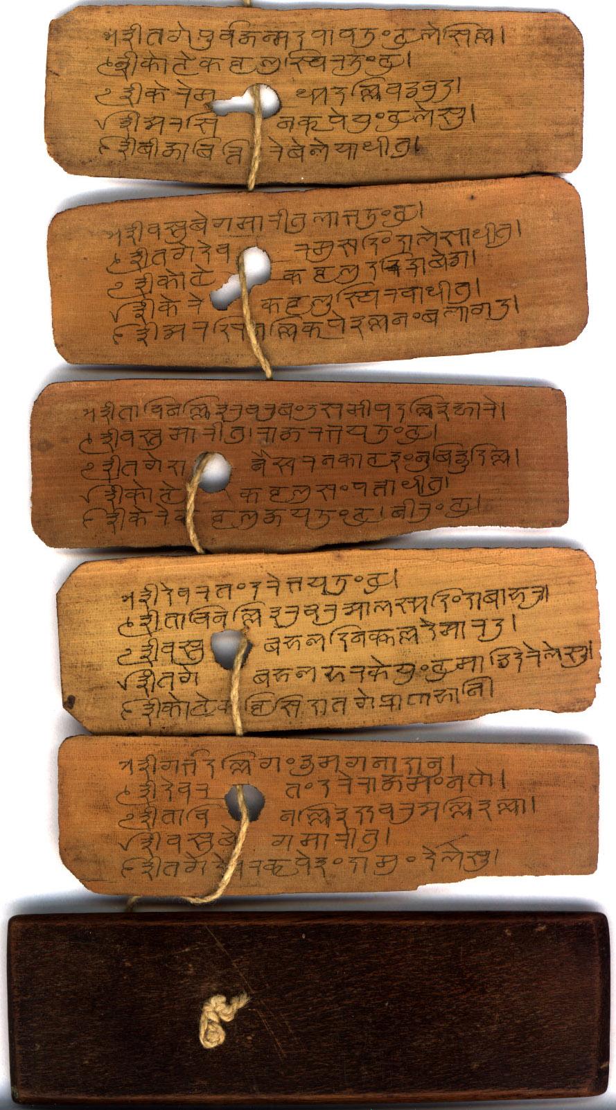 An Indic Palm Leaf Manuscript Please Help Identify It