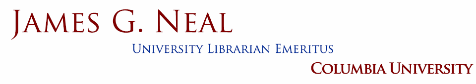 Jim G. Neal - University Librarian Emeritus