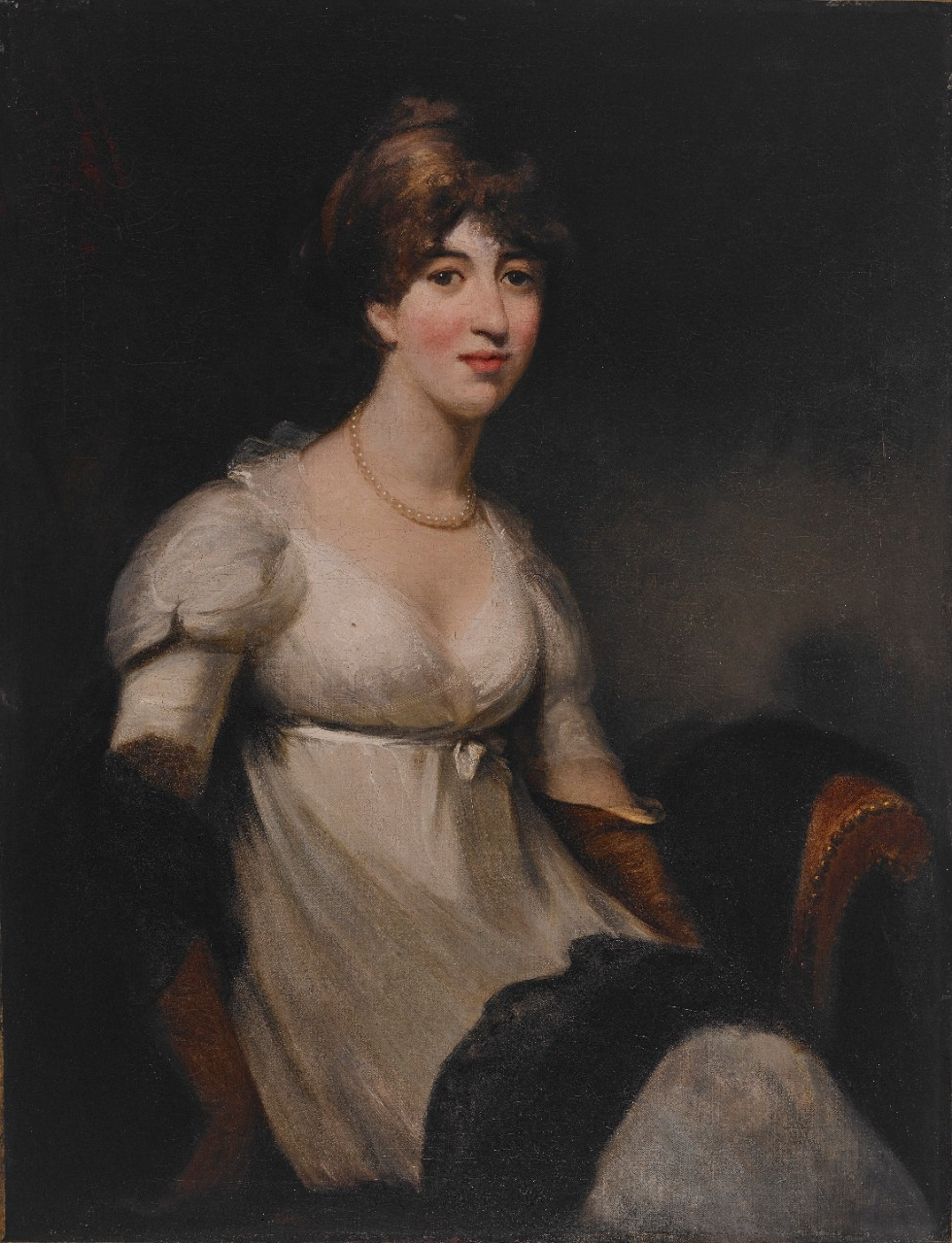 Hoppner, Portrait of Isabella Ricketts