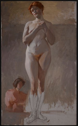 Nude art Lesbian