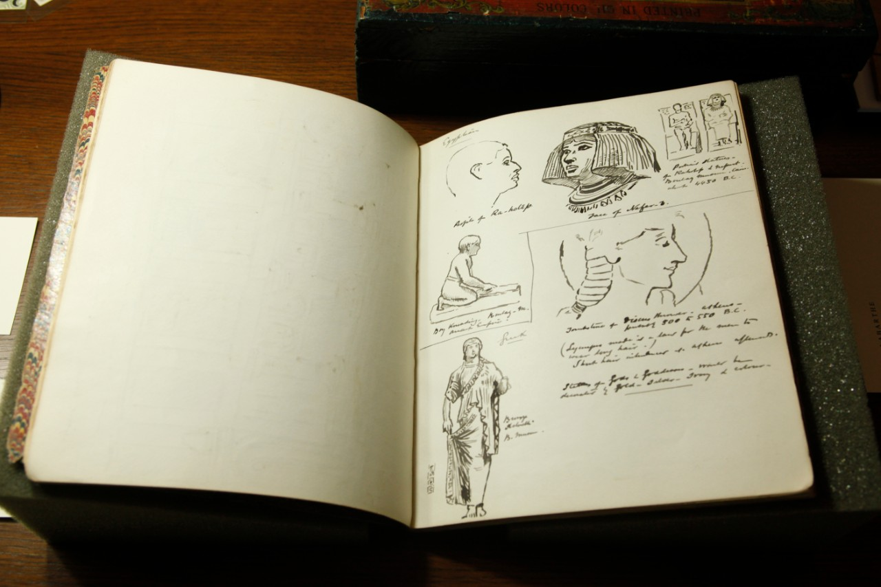 Edward Radford sketchbook