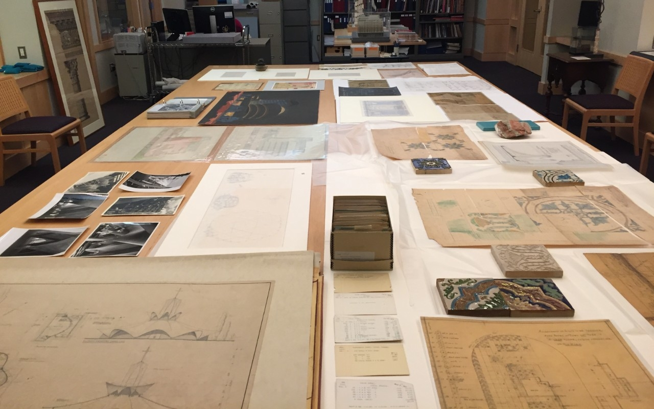 Class in Avery Drawings & Archives