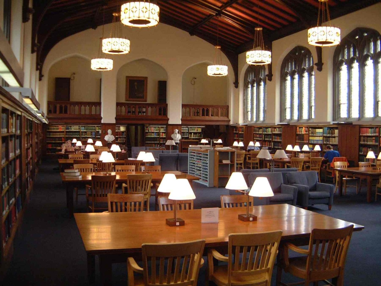 The Burke Library Main Reading Room