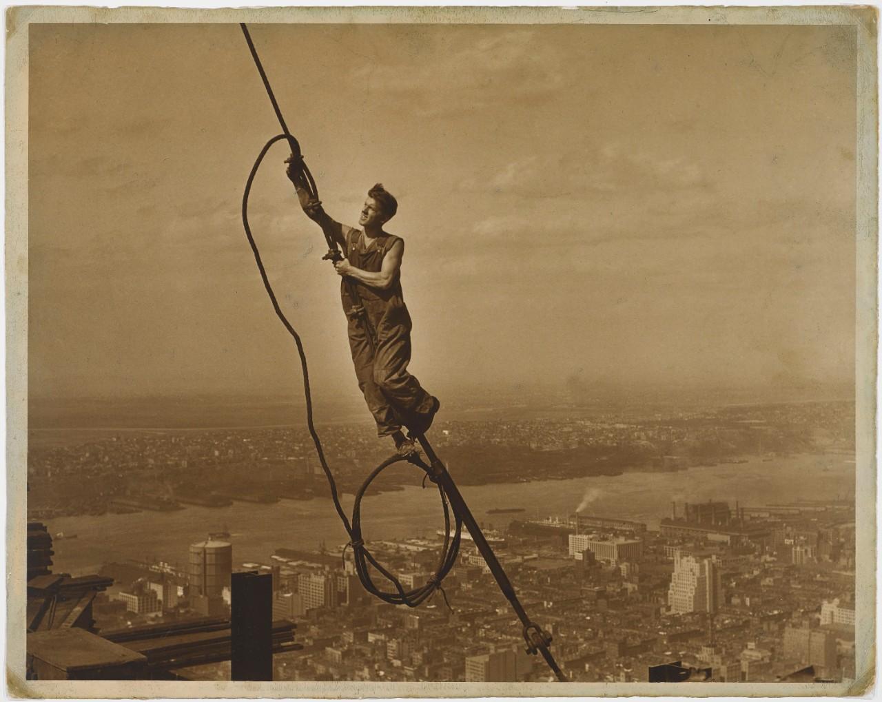 """Skyboy"" photograph, 1930"