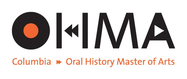 Oral History Master's class