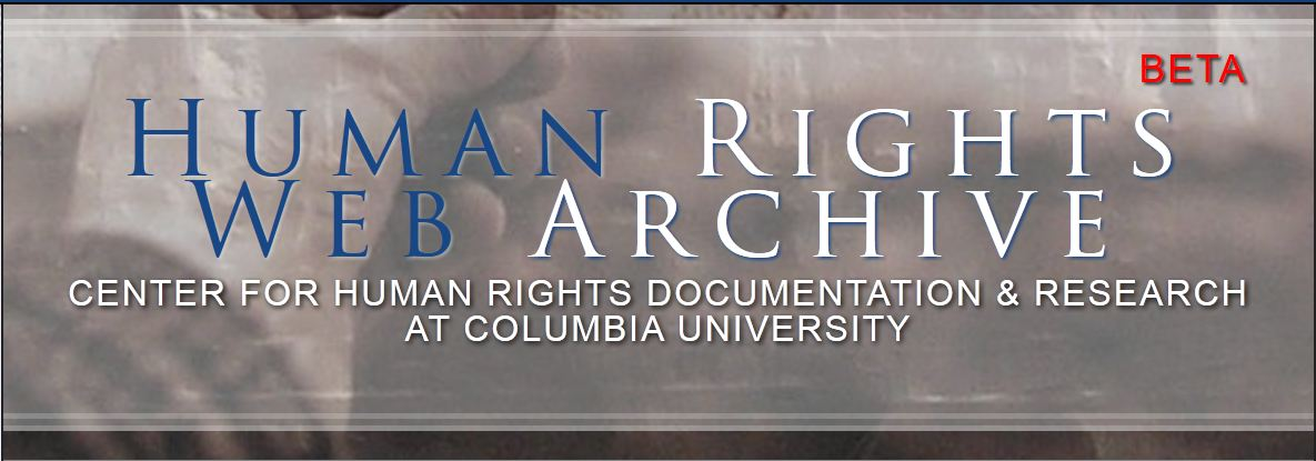 Human Rights Web Archive