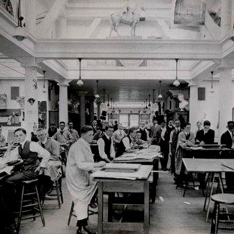 Architecture Students c1913