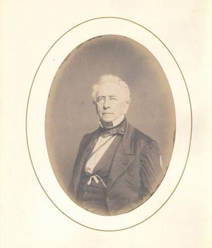 Portrait of Charles King
