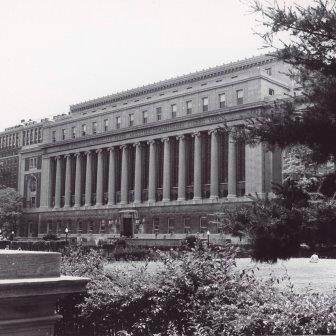 Butler Library, North Facade, undated.