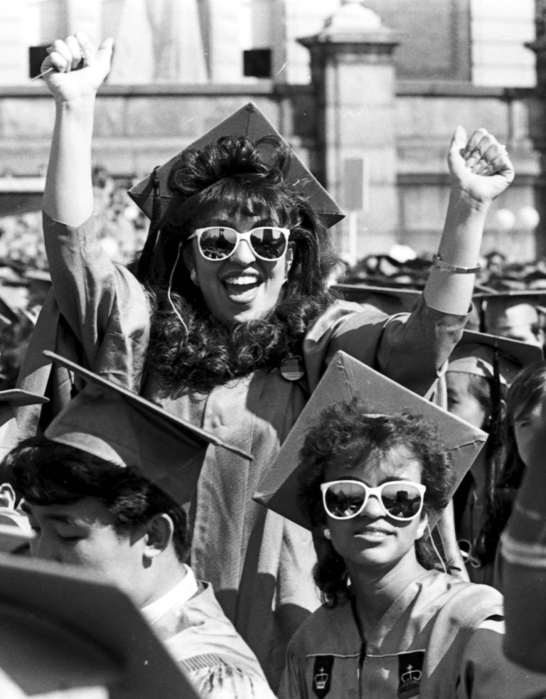 Columbia College Commencement 1987