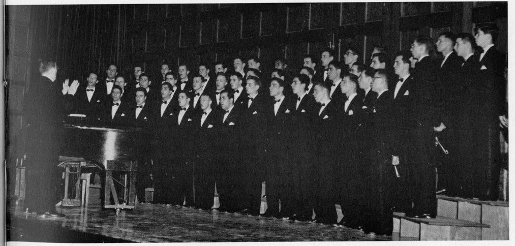 Glee Club from the 1952 Columbian