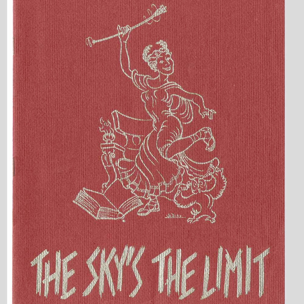 The Sky's the Limit program cover