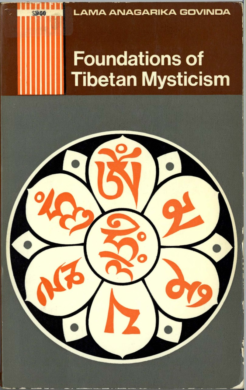Foundations of Tibetan Mysticism_book cover