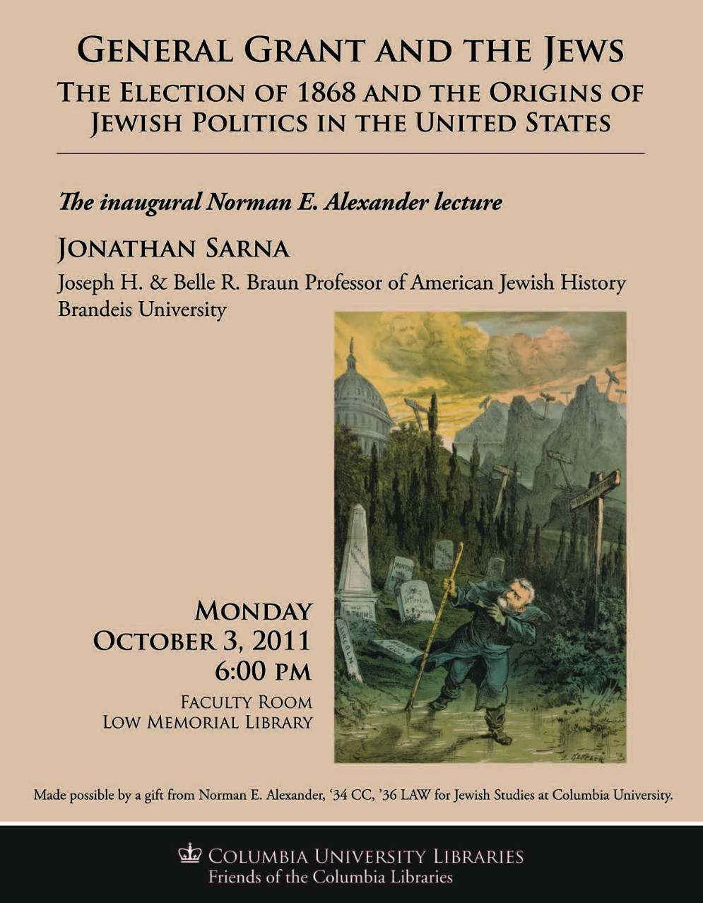 Alexander Lecture 2011 - Poster