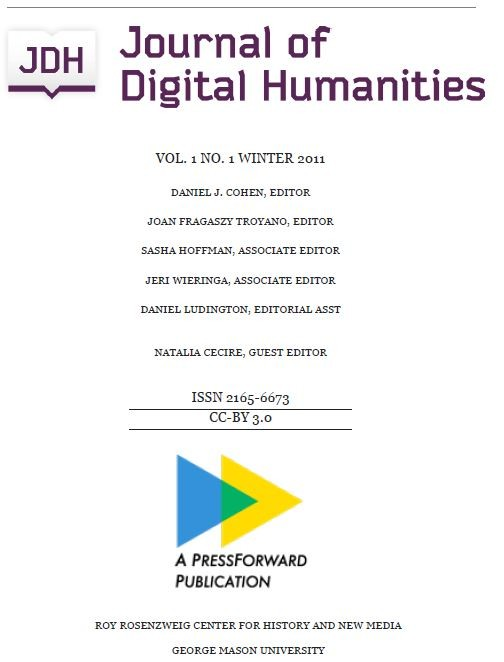 Journal of Digital Humanities