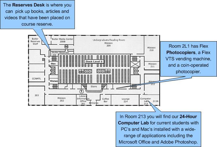 Milstein library floorplans columbia university libraries for Columbia flooring jobs