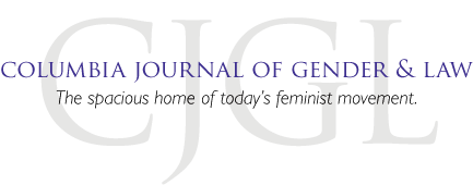 Columbia Journal of Gender and Law Logo