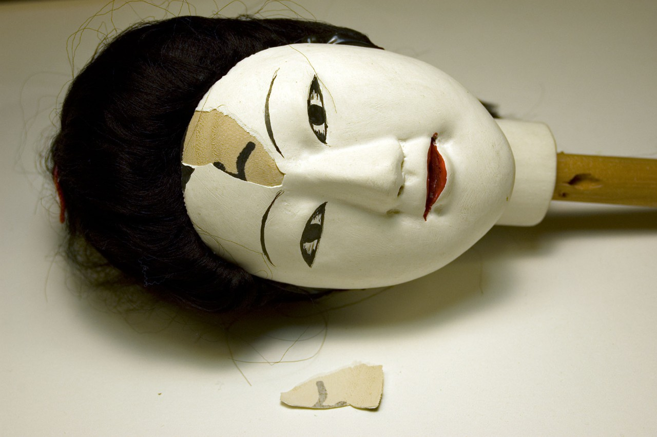 "Puppet, ""Young Woman"" (Before Treatment)"